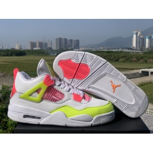 2020 Cheap Air Jordan 4 Lemon Venom Sneakers For Women in 227646