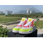 2020 Cheap Air Jordan 4 Lemon Venom Sneakers For Women in 227646, cheap Jordan 4 For Women
