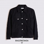 2020 Cheap Balenciaga Jeans Jackets For Men # 227873