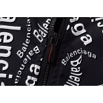 2020 Balenciaga Allover Logo Zip Up Bomber Jackets For Men in 229205, cheap Balenciaga Jackets