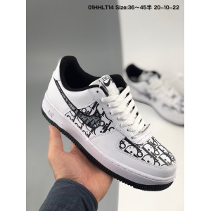 Nike Air Force One Sneakers For Men # 231189