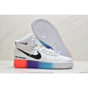 $82.00,Nike Air Force One High Top Sneakers Unisex in 232678