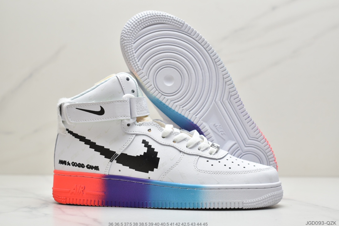 Nike Air Force One High Top Sneakers Unisex in 232678, cheap Air Force one, only $82!