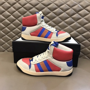 $85.00,Gucci Screener High Top Sneakers Unisex # 233177