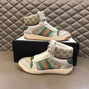 $85.00,Gucci Screener High Top Sneakers Unisex # 233179