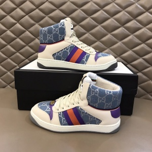 $85.00,Gucci Screener High Top Sneakers Unisex # 233180
