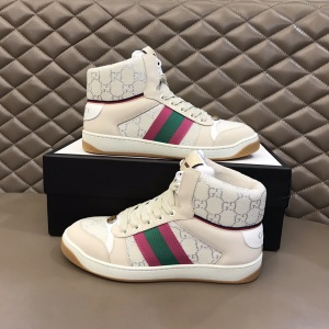 $85.00,Gucci Screener High Top Sneakers Unisex # 233181
