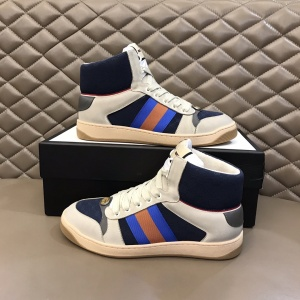$85.00,Gucci Screener High Top Sneakers Unisex # 233182