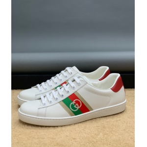 $82.00,Gucci ACE GG Canvas Lace Up Sneakers # 233365