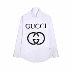 2021 Gucci Long Sleeve Shirts For Men # 236966