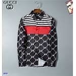 2021 Gucci Long Sleeve Shirts For Men in 237206