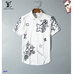 2021 Louis Vuitton Long Sleeve Shirts For Men in 237223